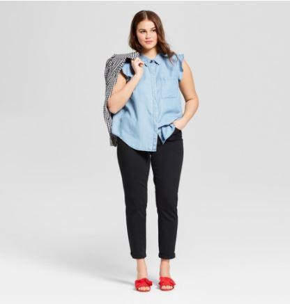 https://www.target.com/p/women-s-plus-size-sleeveless-ruffle-button-up-blouse-who-what-wear-153/-/A-53136913?preselect=52992166#lnk=sametab