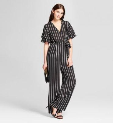 https://www.target.com/p/women-s-striped-ruffle-sleeve-wrap-tie-jumpsuit-201-clair-black-white/-/A-53208061?preselect=53193258#lnk=sametab